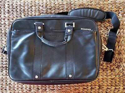 Kenneth Cole New York Leather Portfolio Briefcase Business Bag Business York Briefcase