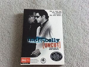 Underbelly uncut DVD Elermore Vale Newcastle Area Preview