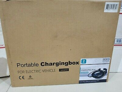 Level2 EV Charger 40A 240V Charging Cable, Portable Plug-in EVSE NEMA 14-50