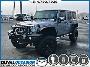 2014 Jeep WRANGLER UNLIMITED Sahara + CUIR + NAVIGATION + TOIT S