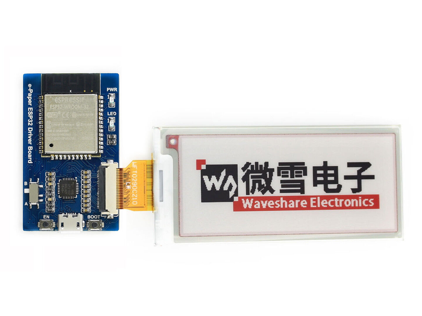 Waveshare Universal e-Paper Raw Panel Driver Board ESP32 WiF