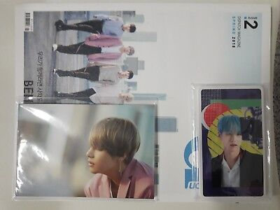 BTS D-icon 220 PAGE BOOK + 15 Photo Card + 10 Post Card Unsealed Cheap RARE FEW