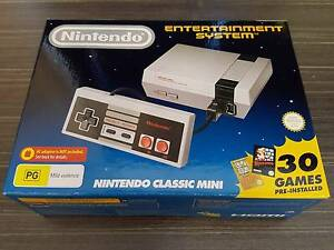 Nintendo Classic Mini NES Console Brand New AU Stock Blackburn Whitehorse Area Preview