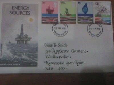 Energy Sources 1978 FDC 25 January 1978