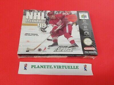 NHL BREAKAWAY 99 NINTENDO 64 N64 PAL EUR NEUF SOUS BLISTER !