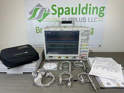 Agilent Mso9254a 2.5 Ghz Mixed Signal Oscilloscope W Probes Fresh Calibration