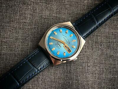 Vintage Favre Leuba Crystal Incabloc 25 Jewels Automatic Gents Watch, Rare,Swiss