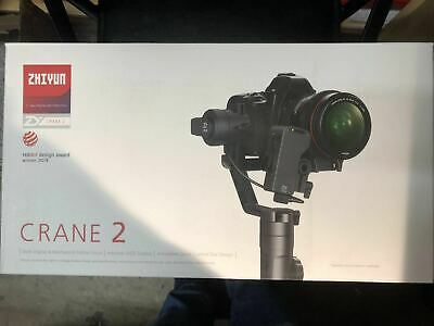 【On sale】Used Zhiyun Crane 2 3-Axis Gimbal Stabilizer (Follow Focus Included) for sale  Shipping to Canada