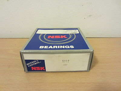Nsk 5212 Double Row Angular Contact Ball Bearing Skf 5212j