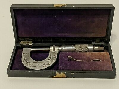 Vintage Brown Sharpe Mfg Co Micrometer No 8 Made In Usa