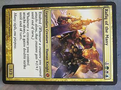 MTG Shards of Alara Rafiq of the Many (MR) EX SEE PICTURES! for sale  Shipping to South Africa