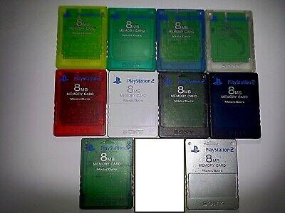 FMCB 1.953 / Genuine Sony PlayStation 2 8MB Memory Card with Free Mcboot 1.953 comprar usado  Enviando para Brazil