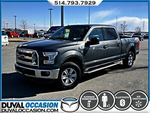 2015 Ford F-150 XLT SUPER CREW + V8 + MARCHE PIED
