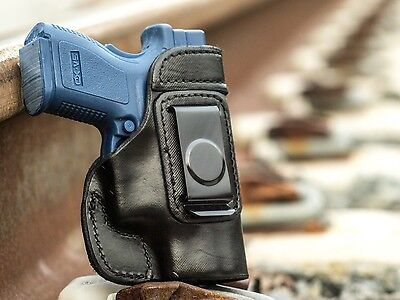 Springfield Xd Subcompact 9Mm  40S W   Full Grain Leather Iwb Conceal Holster