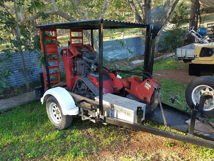 Stump grinder and trailer - start your own business! Nerang Gold Coast West Preview