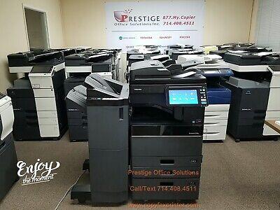 Toshiba E-studio 4508a Copier Printer Scanner Meter Only 61k See Video Below