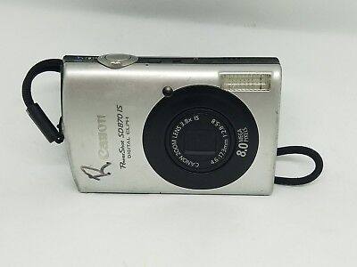 Canon PowerShot SD870 IS 8MP Digital ELPH Camera - AS-IS