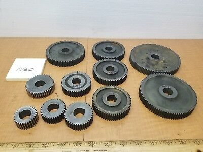 Hendey Lathe 12 Qcgb Gears .812id .157 Key .70 Face Price Is For 1 Gear