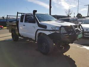 """2009 Toyota Hilux Space Cab Tray Ute TURBO DIESEL 4X4 """"EXTRAS"""" Williamstown North Hobsons Bay Area Preview"""