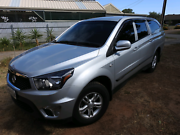 2014 Ssangyong Actyon Sports  Salisbury Downs Salisbury Area Preview
