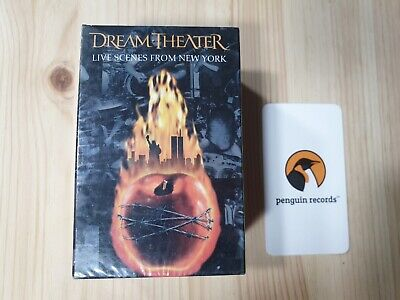 DREAM THEATER - LIVE SCENES FROM NEW YORK CASSETTE TAPE KOREA EDITION SEALED