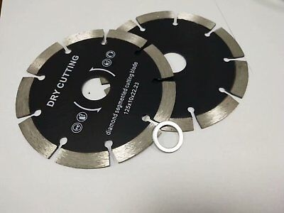 6 Diamond Cutting Blade Saw Disc 5 Pieces Stone Concrete Granite Travertine