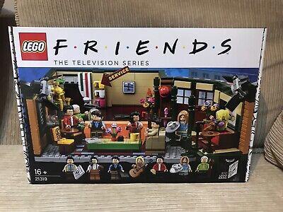LEGO Ideas Central Perk 21319 Friends Rachel Ross Chandler Monica Joey Cafe NEW