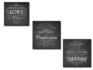 NEW Set of 3 Poster Print Wall Art 12x12