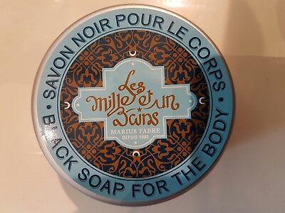 Marius Fabre Black Soap Savon Noir for Hammam  French No additives Biodegradable