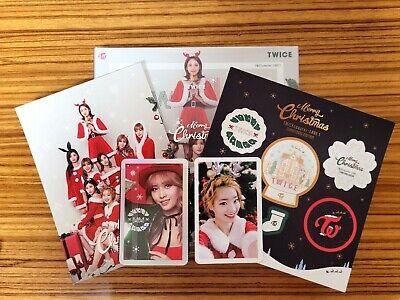 Twice 3rd Mini Album Christmas Edition Twicecoaster Lane1 MOMO DAHYUN 2PC