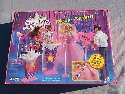 Superstar Barbie Movie Awards Arco 1988 Mattel NIB