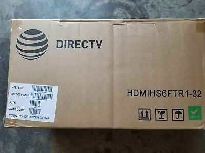 DirecTv HDMI Cable 6 ft Black Lot of 180 36 bags of 5 Black Hdmi Hdmi Cable