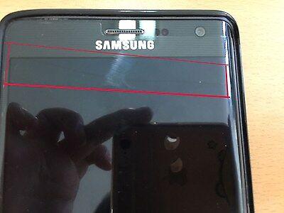 "SAMSUNG GALAXY NOTE EDGE BLACK SM-N915S UNLOCKED 5.7"" QHD 32GB Used"