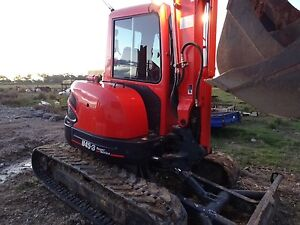 5Ton Kubota Excavator with Attachments Ormeau Gold Coast North Preview