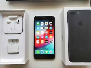 Mint Condition iPhone 7 PLUS Black 128GB with BOX