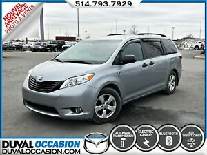 2015 Toyota Sienna CAMERA DE RECUL + CLIMATISATION + BLUETOOTH