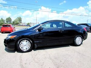 2008 Honda Civic DX Coupe AUTO ALLOYS CERTIFIED 2YR WARRANTY