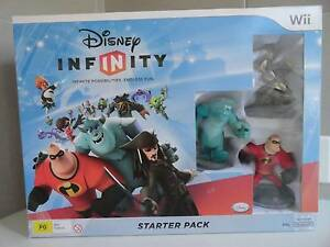 Wii Disney Infinity Starter Pack PLUS add on Pack-NEW Sealed Lutwyche Brisbane North East Preview