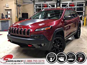 2015 Jeep Cherokee TRAILHAWK*V6*4X4*GPS*SIÈGES CHAUFFANTS*MAGS N