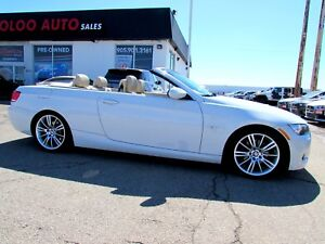 2009 BMW 3-Series 328i M Pkg Convertible Leather Certified 2YR W