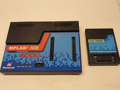 Microchip Mplab Ice 4000 Universal Device Programmer Pmf18wb0 Processor Module