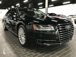 2017 Audi A8 3.0T quattro-NAVI-360 CAMERA-ONLY 37K KMS