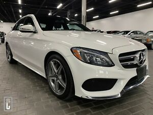 2017 Mercedes-Benz C-Class C300 4MATIC Sedan-NAVI-BACKUP CAMERA-