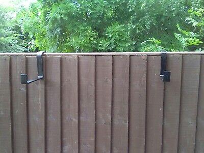 Window box brackets for hanging on fences (Fence Window Box)