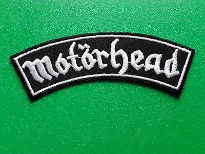 PUNK ROCK HEAVY METAL MUSIC SEW / IRON ON PATCH:- MOTORHEAD