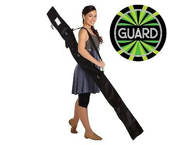 Guard Flag Bags - 6 foot Color Guard Personal Flag Pole,Rifle, Sabre Equipment Bag by DSI w/ Decal