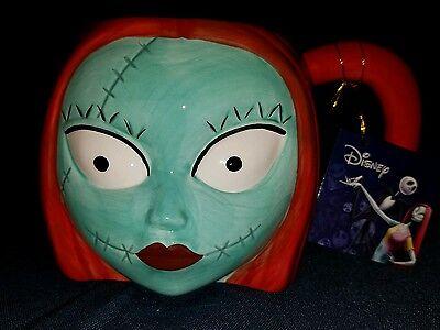 A Nightmare Before Christmas Sally Head 20 oz Ceramic Figural Mug NEW UNUSED