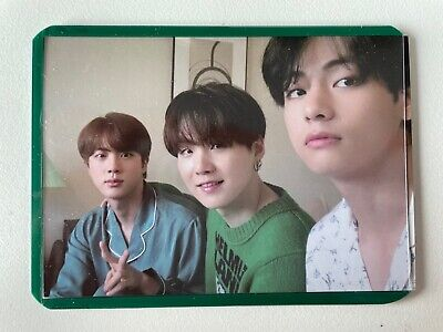 BTS Bangtan Boys BE Eco Bag Photo Card Unit Jin SUGA V Taehyung