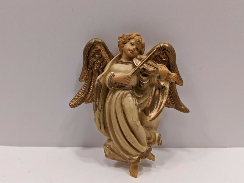 VINTAGE MADE IN ITALY CHRISTMAS ANGEL ORNAMENT
