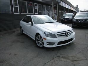 2013 Mercedes Benz C-Class C350 4MATIC Sport Sedan, MOON ROOF!! LEATHER INTER